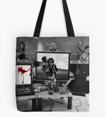 Office Cubicle Tote Bag