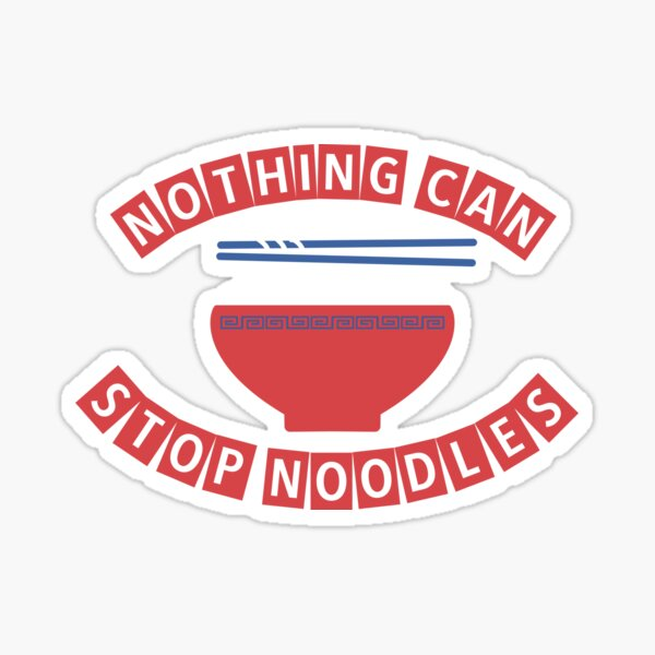 Noodles May Sticker