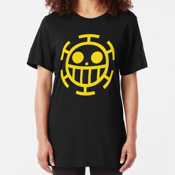 Heart Pirates Jolly Roger Slim Fit T-Shirt