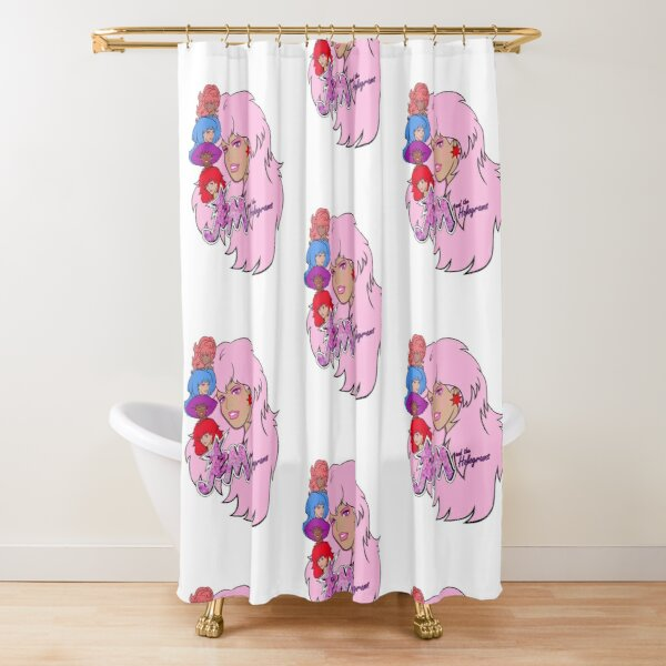 Jem and the Holograms Shower Curtain