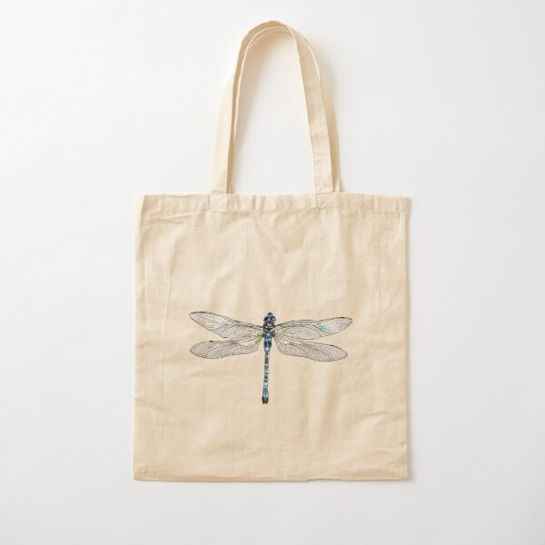 Dragonfly Cotton Tote Bag
