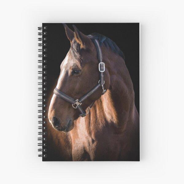 La photographie de portrait de cheval brun Cahier à spirale