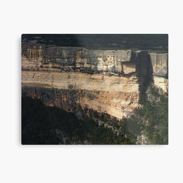 Cliffs of Kanangra Walls, NSW Metal Print