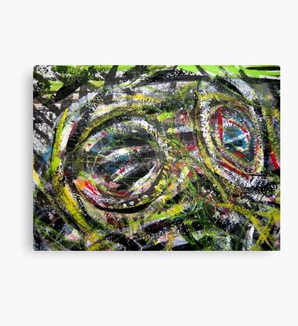 your eyes aint seen nothing yet... out of the jungle for real Canvas Print