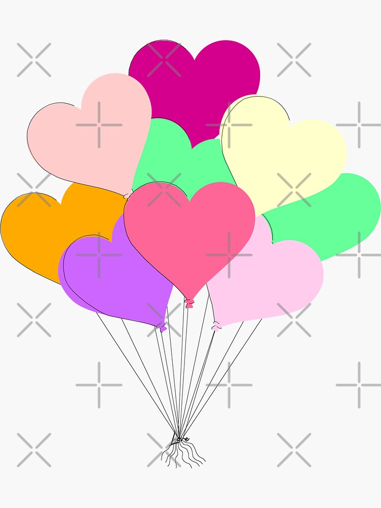Balloon Bouquet for Valentines Day by ButterflysAttic
