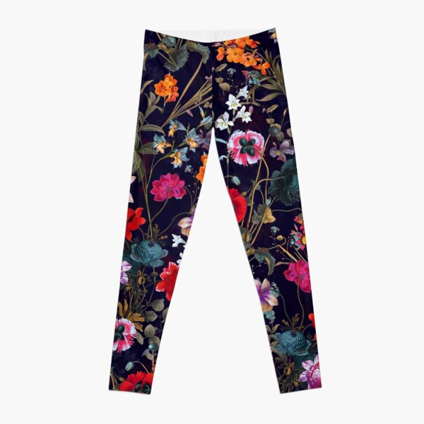 Midnight Garden XIX Leggings