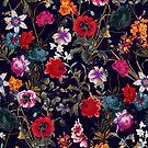 Midnight Garden XIX by Burcu Korkmazyurek