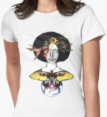 Mother Nature III Women's Fitted T-Shirt
