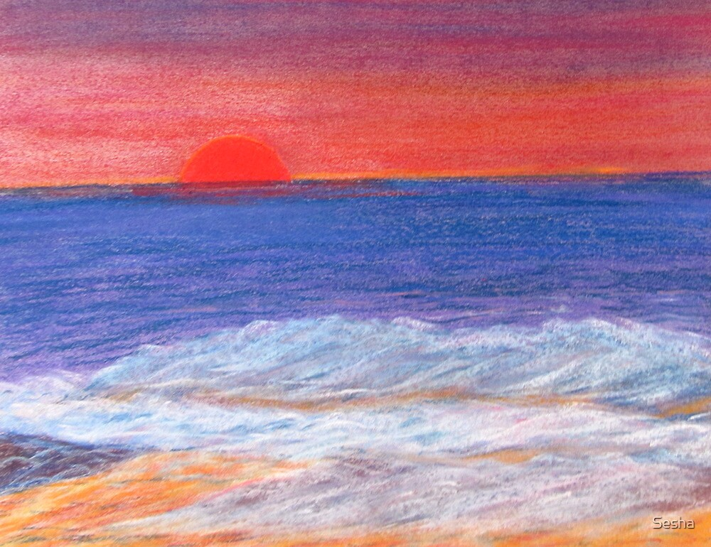 Beyond the Sunset and Sea. by Sesha