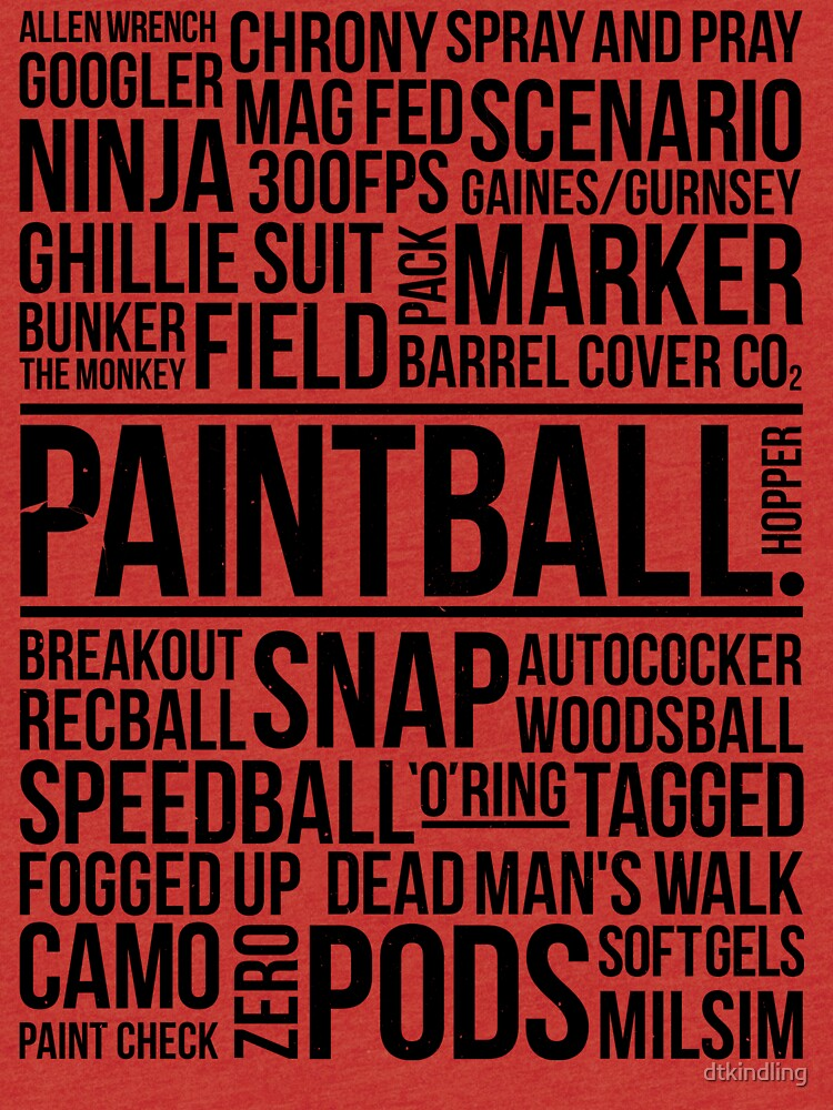 World of Paintball! by dtkindling
