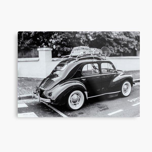 Renault 4cv Metal Print