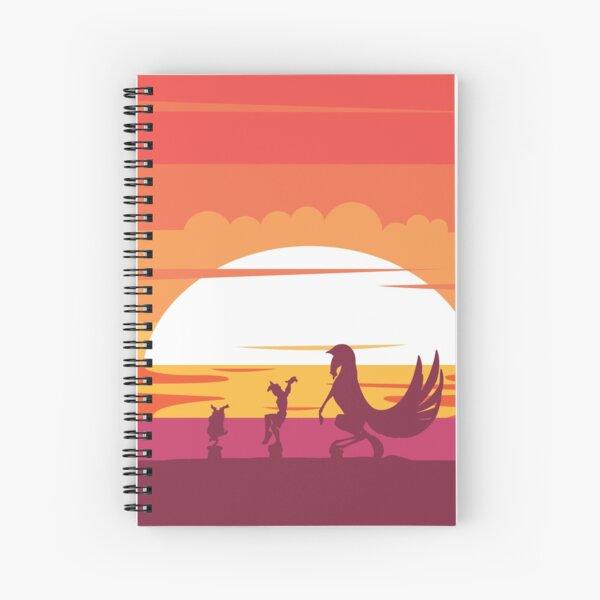 Training Days Spiral Notebook