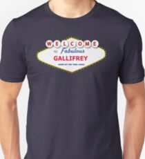 DOCTOR WHO WELCOME TO GALLIFREY T-Shirt