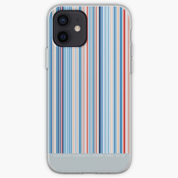 Warming Stripe- England iPhone Soft Case