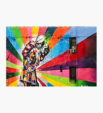 Times Square Kiss in Chelsea Photographic Print