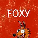 Foxy phone case by PeteSongi