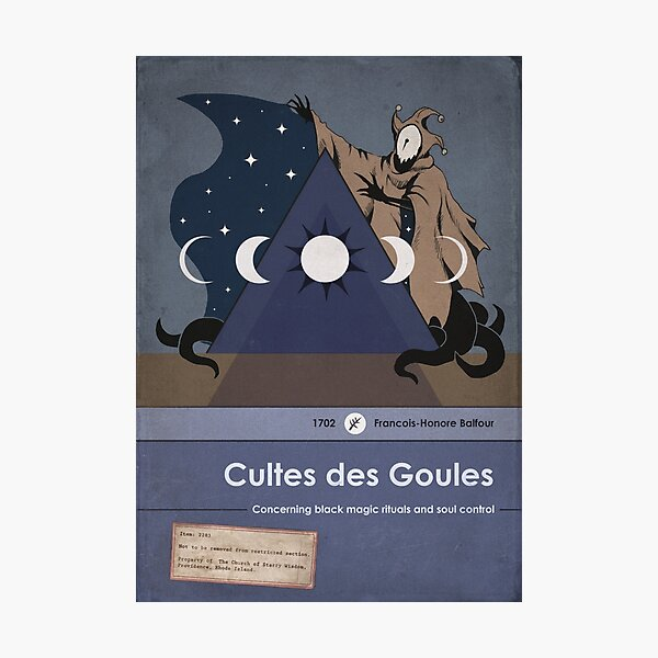 Cultes des Goules Photographic Print