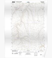 USGS Topo Map Oregon Moro 20110903 TM Poster