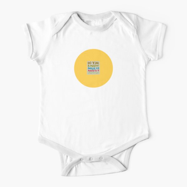 projectile vomiting Short Sleeve Baby One-Piece