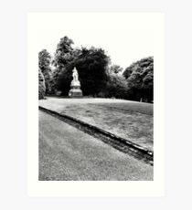 Lister monument Art Print