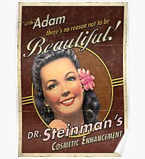 BioShock – Dr. Steinman's Cosmetic Enhancement Poster Poster