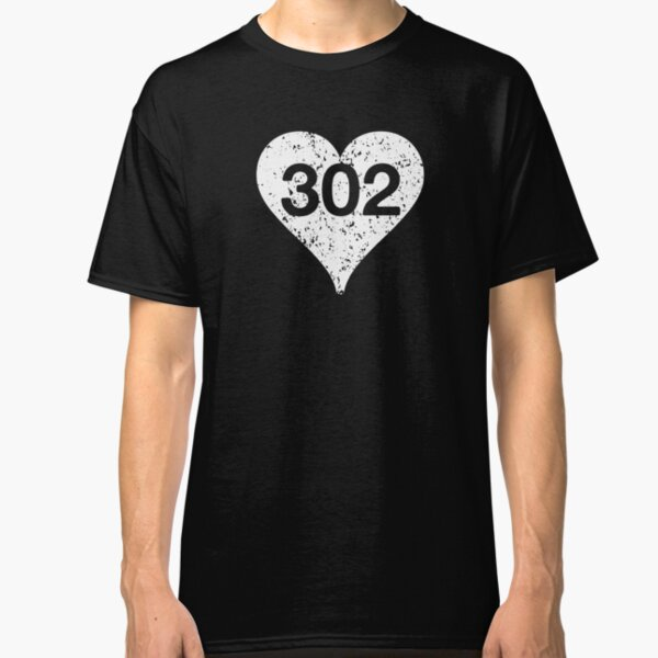 Wilmington Dover Newark Smyrna Delaware 302 T-shirt Baby Toddler Youth Tee