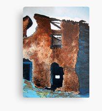 Adobe Ruins Metal Print