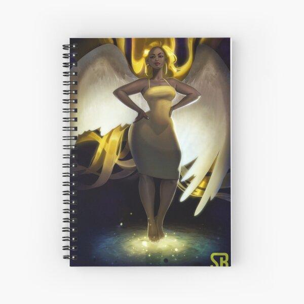 Dear Angel Spiral Notebook