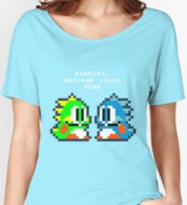 Bubbles. Awesome since 1986 Women's Relaxed Fit T-Shirt