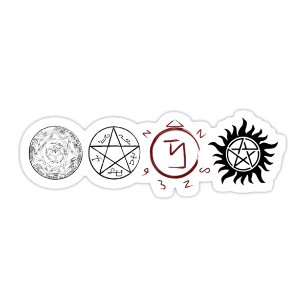 Pictures of Supernatural Protection Symbols And Meanings - #rock-cafe