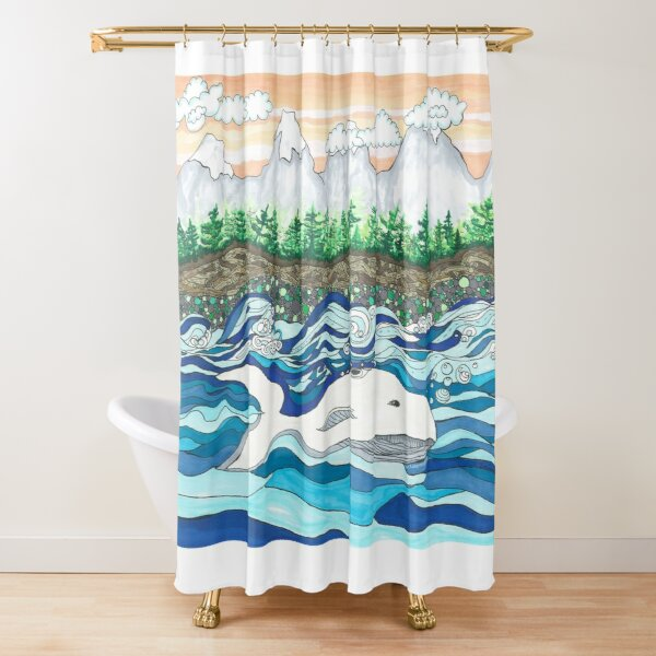 Dreaming of Vancouver  Shower Curtain