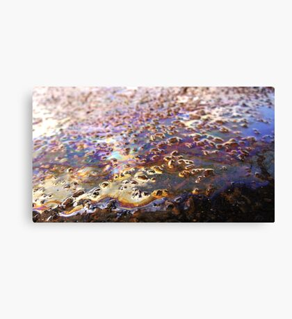 Oil Spill Canvas Print
