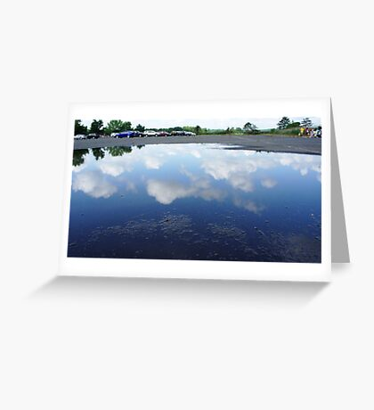 Reflecting Puddle 2 Greeting Card