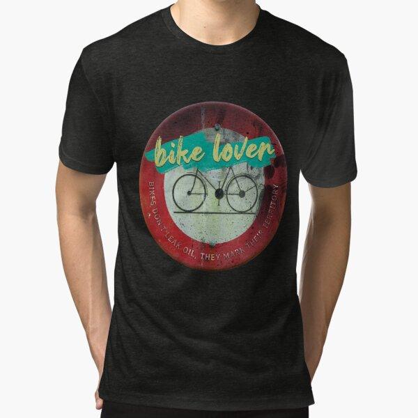 Bike lover T-shirt chiné