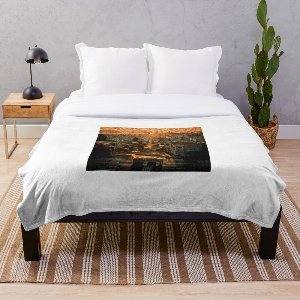 Lombard Street San Francisco California Throw Blanket By Marcosc11 Redbubble