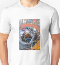 road sign with no direction Unisex T-Shirt