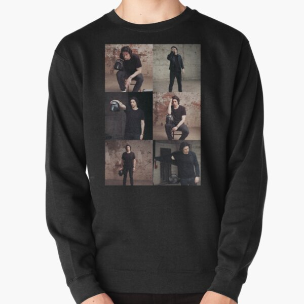 Adam Driver for Rolling Stone Grid Collage Pullover Sweatshirt