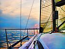 """Sail into the Sun by Christine """"Xine"""" Segalas"""