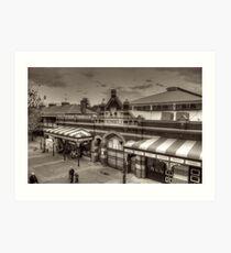 Fremantle Markets Art Print