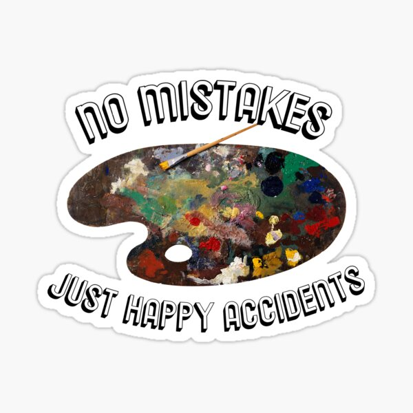 happy accidents  Sticker