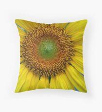 Sunflower in the Garden Throw Pillow