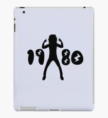 1980s Retro Man  iPad Case/Skin