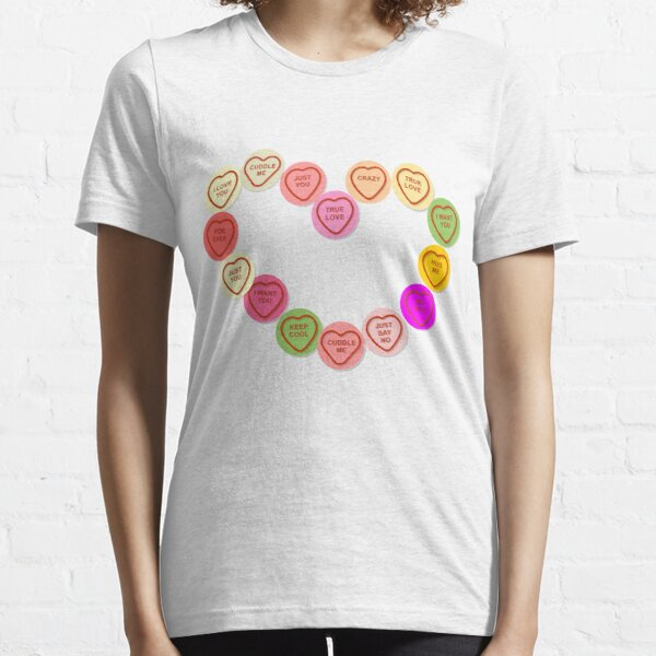 Love Heart Sweets, candy Essential T-Shirt