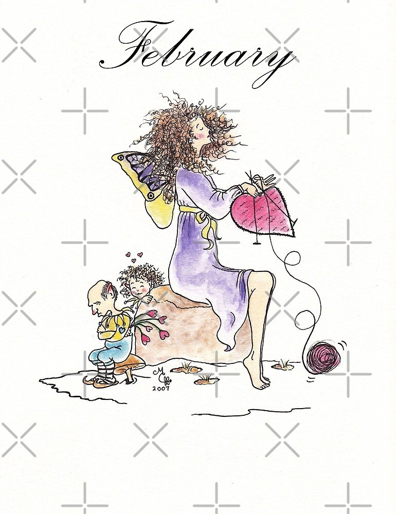 February - The Knittington Fairies series by LeisureLane1