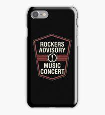 Rockers Advisory iPhone Case/Skin