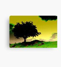 """""""THE GUMBOAKY TREE [for fazza] Canvas Print"""