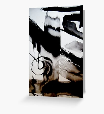 that's life ..... an abstract revival#3 Greeting Card