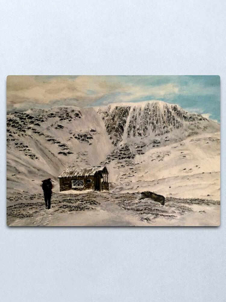 Alternate view of Scottish Highlands - Wall Art Metal Print