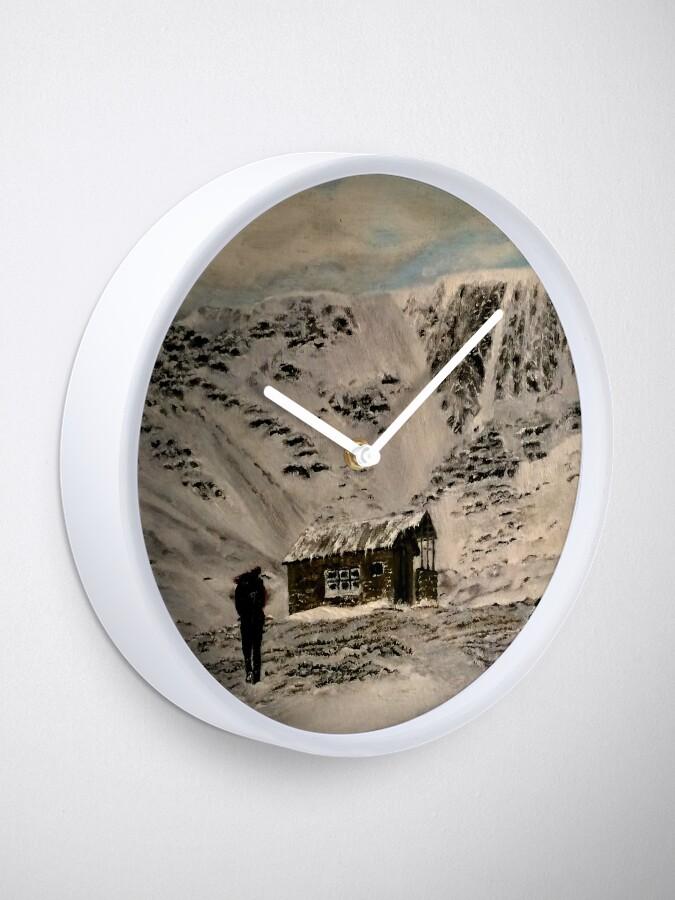 Alternate view of Scottish Highlands - Clock Clock