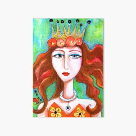 Queen of Everything Art Board Print